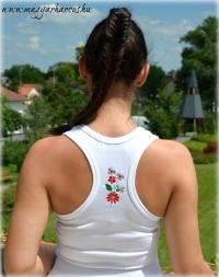 AtN13 - Női atléta-hímzett