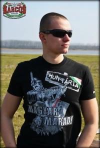 PoK50 - Magyar marad póló fekete