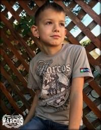 PoGY29 - HARCOS-Kürtös gyerek póló
