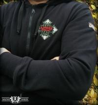 PuZ24 - Ébredj magyar! kapucnis cipzáras pulóver